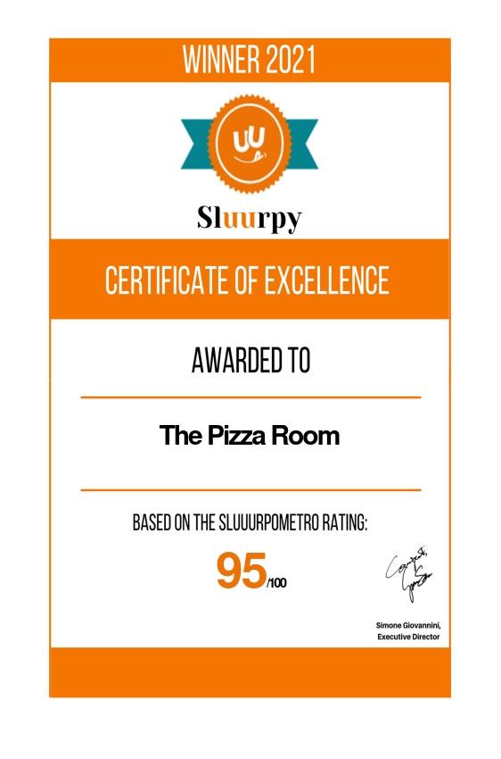 The Pizza Room - Sluurpy
