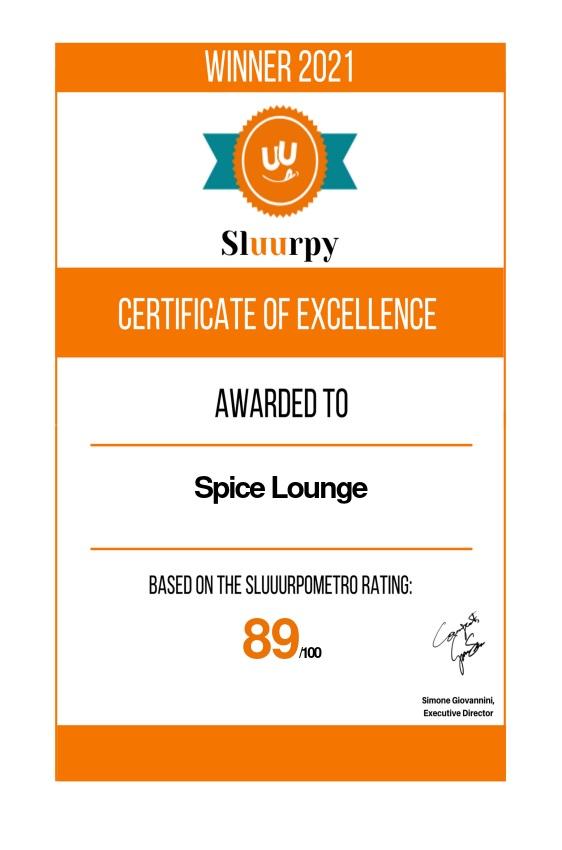 Spice Lounge - Sluurpy